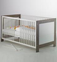Детская кроватка Geuther Marlene бело-серая