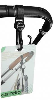 Двойные крючки для коляски Carrello